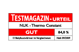 [Translate to Français:] Germany 2009: Good – NUK Baby Food Warmer Thermo Constant
