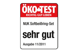 [Translate to Français:] Germany 2012: Very Good – NUK Connect-and-Play Teething Ring Set