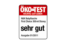 [Translate to Français:] Germany 2011: Very Good – NUK First Choice+ 300ml Bottle Disney