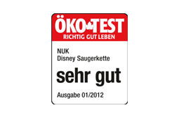 [Translate to Français:] Germany 2012: Very Good – NUK Soother Chain Disney