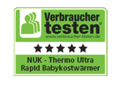 [Translate to Français:] Germany 2013: Very Good - NUK Babyfood Warmer Thermo Ultra Rapid