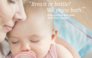 [Translate to Français:] Baby bottles and teats brochure
