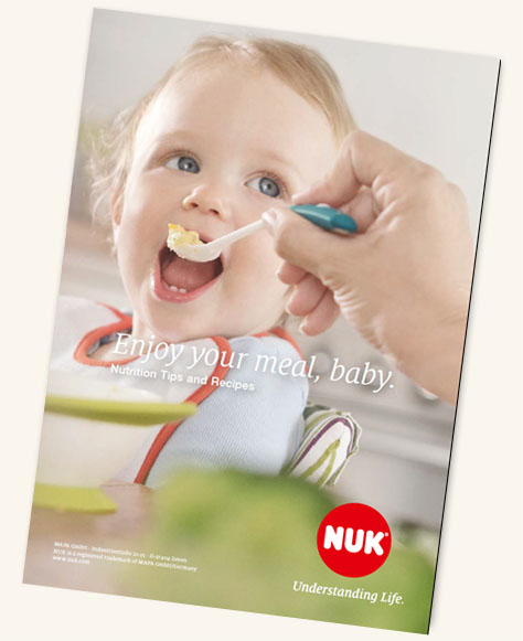 [Translate to Français:] NUK Kids Food Recipe Booklet