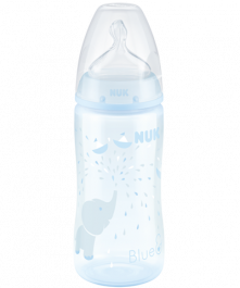 Biberon NUK First Choice Plus Baby Rose & Blue 300ml avec Temperature Control