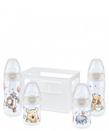NUK Disney Winnie l'Ourson First Choice Plus Starter Set avec Temperature Conrtrol
