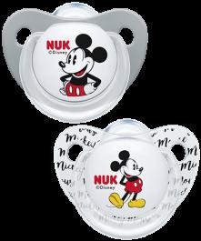 Sucette en silicone NUK Disney Mickey Mouse Trendline