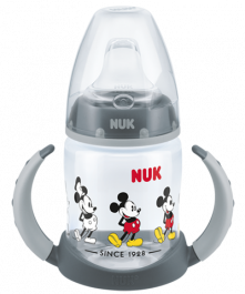 Biberon d'apprentissage 150ml NUK Disney Mickey Mouse First Choice