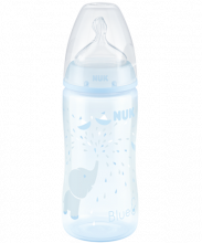 Biberon NUK First Choice Plus Baby Rose & Blue 300ml avec Temperature Control