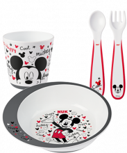 Set d'apprentissage repas Disney Mickey NUK