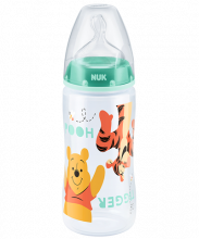 NUK Disney Winnie l'Ourson First Choice Plus Biberon avec tétine 300ml