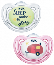 Sucette en silicone NUK Hello Adventure Freestyle
