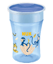 NUK Magic Cup 230ml avec couvercle de protection