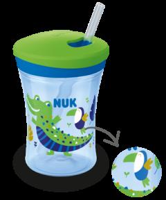 NUK Action Cup 230ml avec effet caméléon