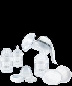 Kit d'allaitement NUK Nature Sense avec Temperature Control